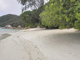 Praslin north east cost